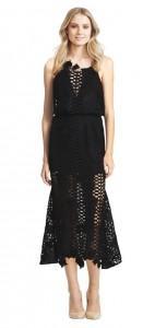 Black love light dress