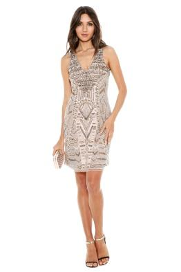 Grace and Blaze - All That Shines Dress - Front - Blush