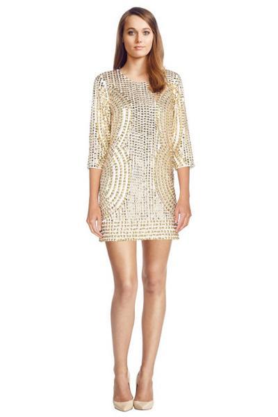 parker petra dress glamcorner style muse Hailey Baldwin