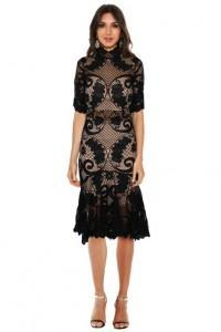 thurley babylon lace dress autumn wardrobe