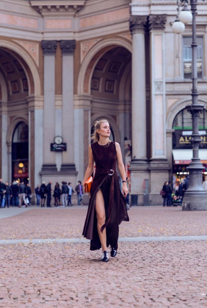 Rebecca Laurey wat to wear to fashion week