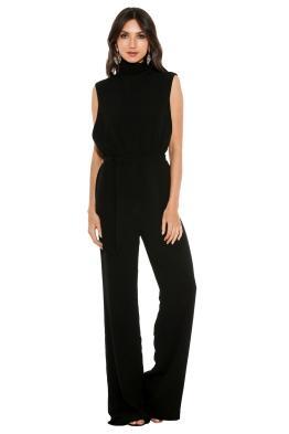 Misha Collection - Ottavia Pantsuit - Front - Black