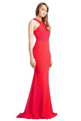 Alex Perry - Aimee Gown - Front - Red