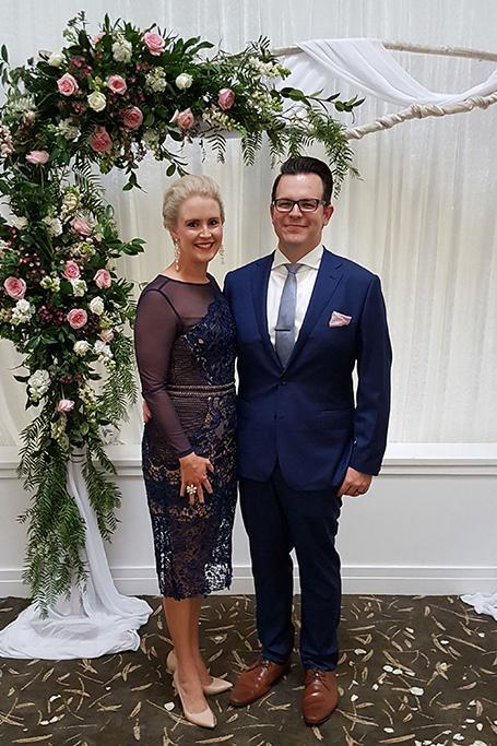 Cassandra Hughes Winter Wedding Dress Hire 1
