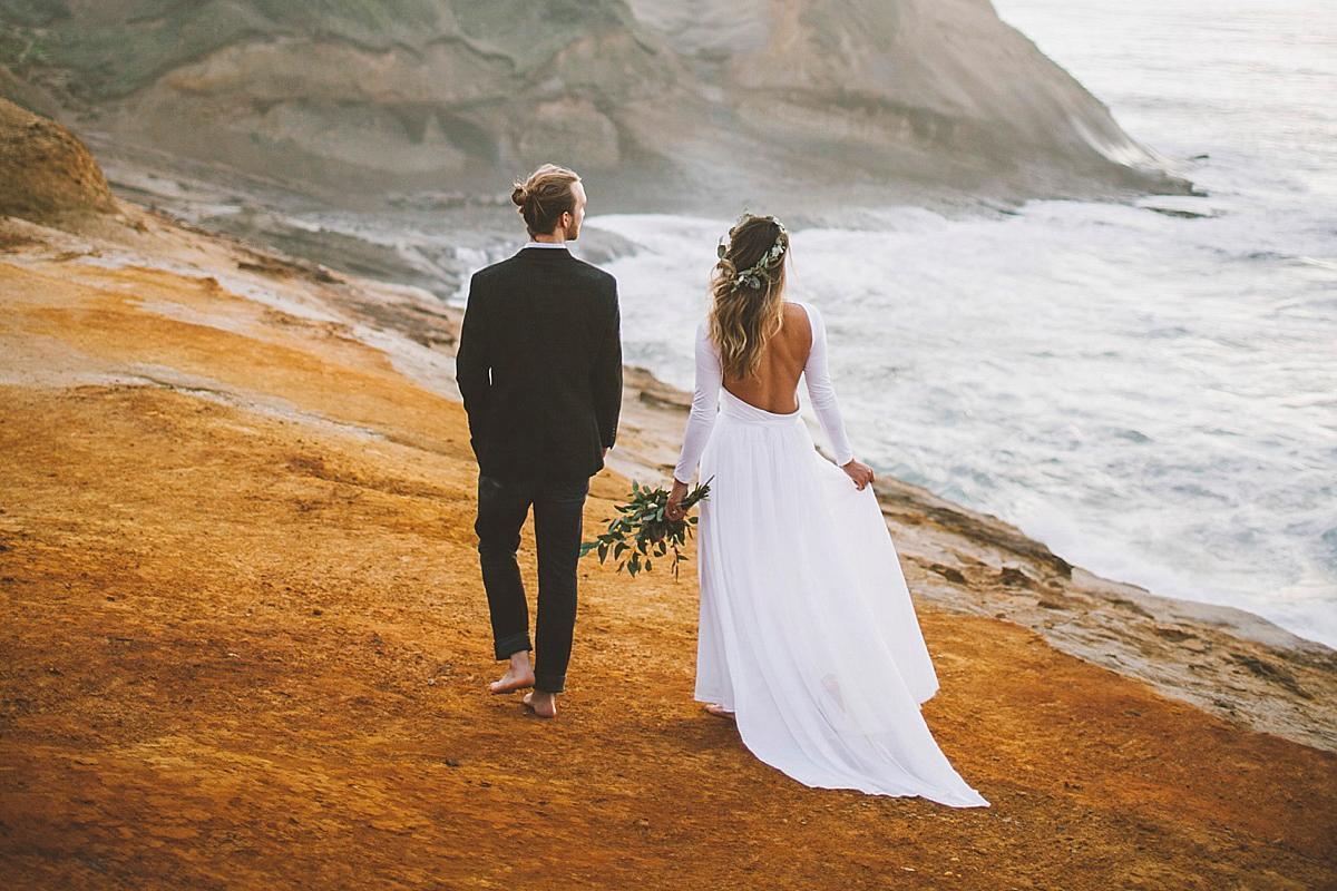 Winter Beach Wedding Header