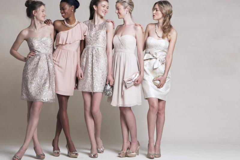 Pink and Neutrals Bridesmaid Styling