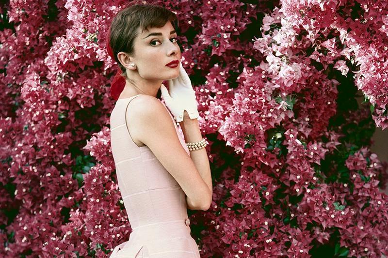 Audrey hepburn autumn engagement party dresses wedding inspiration