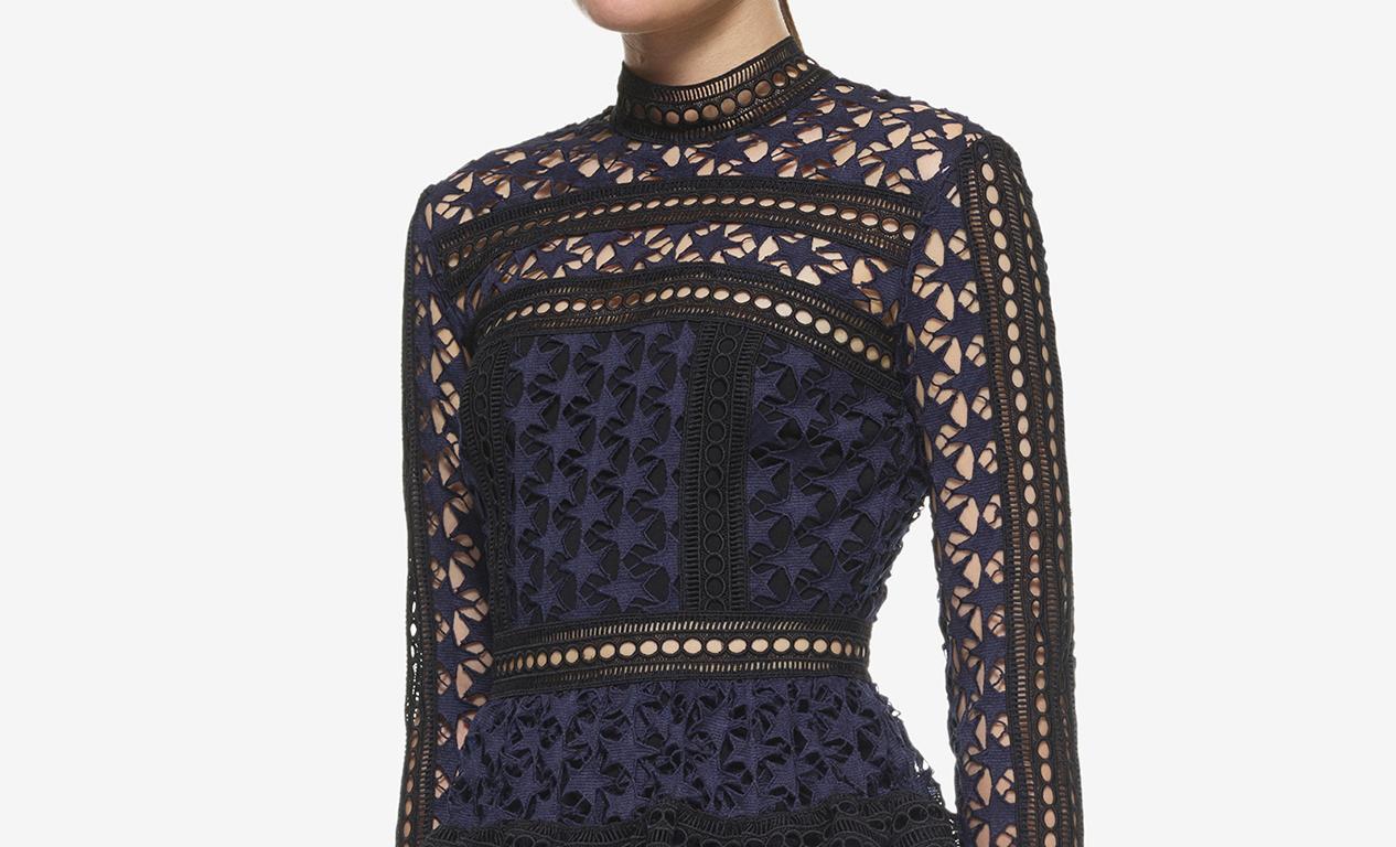 black lace, autumn