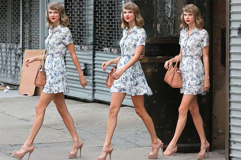 TAYLOR SWIFT PLAYSUIT